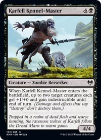 Karfell Kennel-Master, Magic: The Gathering, Kaldheim