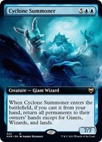 Cyclone Summoner (Extended Art), Magic: The Gathering, Kaldheim