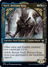 Narfi, Betrayer King (Showcase), Magic: The Gathering, Kaldheim