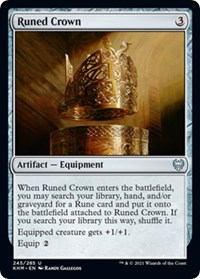 Runed Crown, Magic: The Gathering, Kaldheim