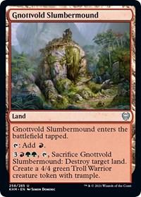 Gnottvold Slumbermound, Magic: The Gathering, Kaldheim