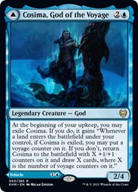 Cosima, God of the Voyage, Magic: The Gathering, Kaldheim