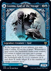Cosima, God of the Voyage (Showcase), Magic: The Gathering, Kaldheim