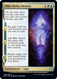 Niko Defies Destiny, Magic: The Gathering, Kaldheim