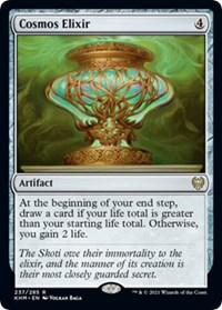 Cosmos Elixir, Magic: The Gathering, Kaldheim