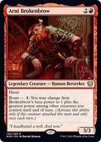 Arni Brokenbrow, Magic: The Gathering, Kaldheim