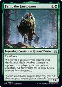 Fynn, the Fangbearer, Magic: The Gathering, Kaldheim