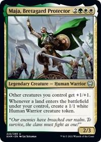 Maja, Bretagard Protector, Magic: The Gathering, Kaldheim