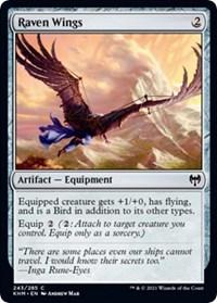Raven Wings, Magic: The Gathering, Kaldheim