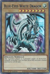 Blue-Eyes White Dragon (Blue), YuGiOh, Legendary Duelists: Season 2
