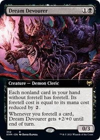 Dream Devourer (Extended Art), Magic: The Gathering, Kaldheim