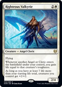 Righteous Valkyrie, Magic: The Gathering, Kaldheim