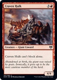 Craven Hulk, Magic: The Gathering, Kaldheim