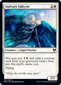 Stalwart Valkyrie, Magic: The Gathering, Kaldheim