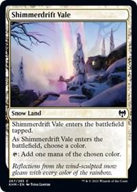 Shimmerdrift Vale, Magic: The Gathering, Kaldheim