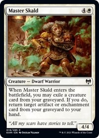 Master Skald, Magic: The Gathering, Kaldheim