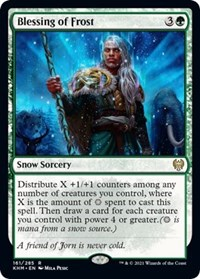 Blessing of Frost, Magic: The Gathering, Kaldheim