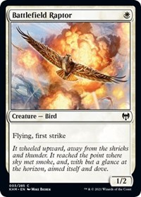 Battlefield Raptor, Magic: The Gathering, Kaldheim