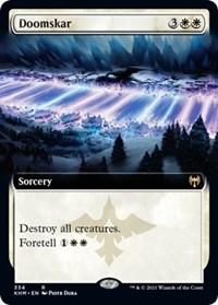 Doomskar (Extended Art), Magic: The Gathering, Kaldheim