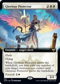 Glorious Protector (Extended Art), Magic: The Gathering, Kaldheim
