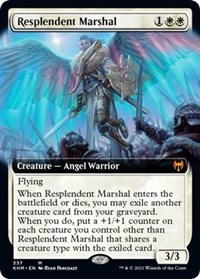 Resplendent Marshal (Extended Art), Magic: The Gathering, Kaldheim