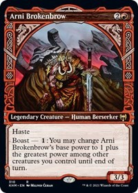 Arni Brokenbrow (Showcase), Magic: The Gathering, Kaldheim