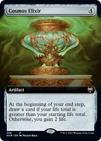 Cosmos Elixir (Extended Art), Magic: The Gathering, Kaldheim