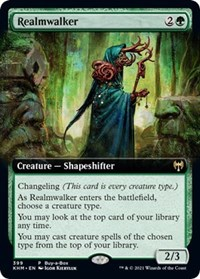 Realmwalker (Extended Art), Magic: The Gathering, Buy-A-Box Promos