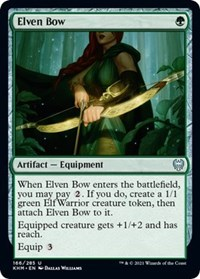 Elven Bow, Magic: The Gathering, Kaldheim