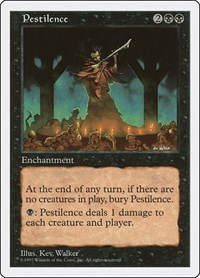 Pestilence, Magic: The Gathering, Fifth Edition