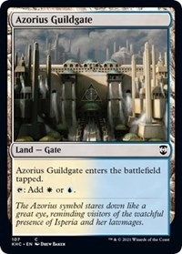 Azorius Guildgate, Magic: The Gathering, Commander: Kaldheim