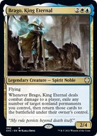 Brago, King Eternal, Magic: The Gathering, Commander: Kaldheim
