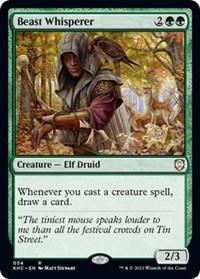 Beast Whisperer, Magic: The Gathering, Commander: Kaldheim