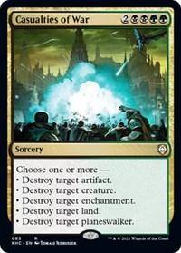Casualties of War, Magic: The Gathering, Commander: Kaldheim