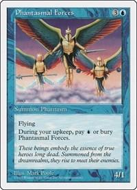 Phantasmal Forces, Magic: The Gathering, Fifth Edition