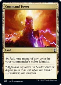 Command Tower, Magic: The Gathering, Commander: Kaldheim