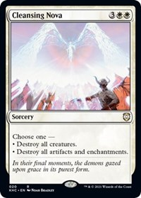 Cleansing Nova, Magic: The Gathering, Commander: Kaldheim