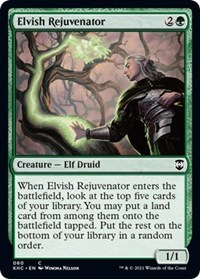 Elvish Rejuvenator, Magic: The Gathering, Commander: Kaldheim