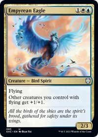 Empyrean Eagle, Magic: The Gathering, Commander: Kaldheim