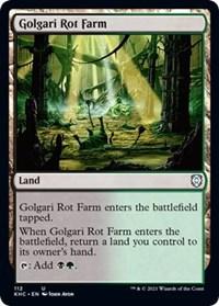 Golgari Rot Farm, Magic: The Gathering, Commander: Kaldheim