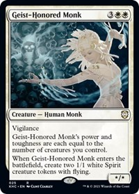 Geist-Honored Monk, Magic: The Gathering, Commander: Kaldheim