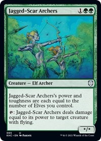 Jagged-Scar Archers, Magic: The Gathering, Commander: Kaldheim