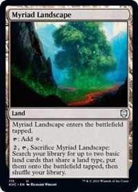 Myriad Landscape, Magic: The Gathering, Commander: Kaldheim