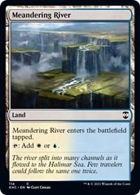 Meandering River, Magic: The Gathering, Commander: Kaldheim