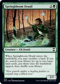 Springbloom Druid, Magic: The Gathering, Commander: Kaldheim