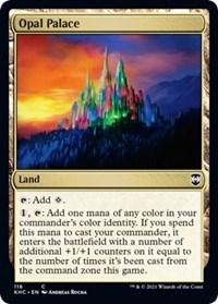Opal Palace, Magic: The Gathering, Commander: Kaldheim