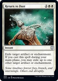 Return to Dust, Magic: The Gathering, Commander: Kaldheim