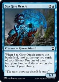 Sea Gate Oracle, Magic: The Gathering, Commander: Kaldheim