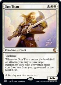 Sun Titan, Magic: The Gathering, Commander: Kaldheim