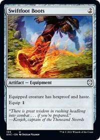 Swiftfoot Boots, Magic: The Gathering, Commander: Kaldheim